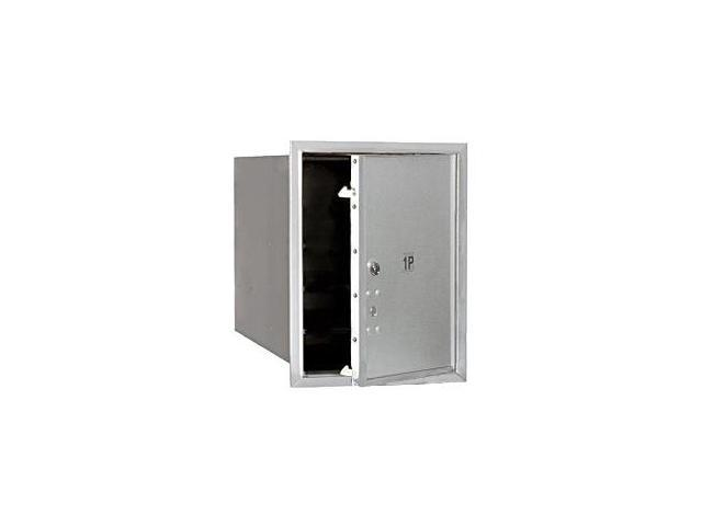 Salsbury Industries 3705S-1PAFU Aluminum Parcel Locker Single Column - Front Loading USPS Access