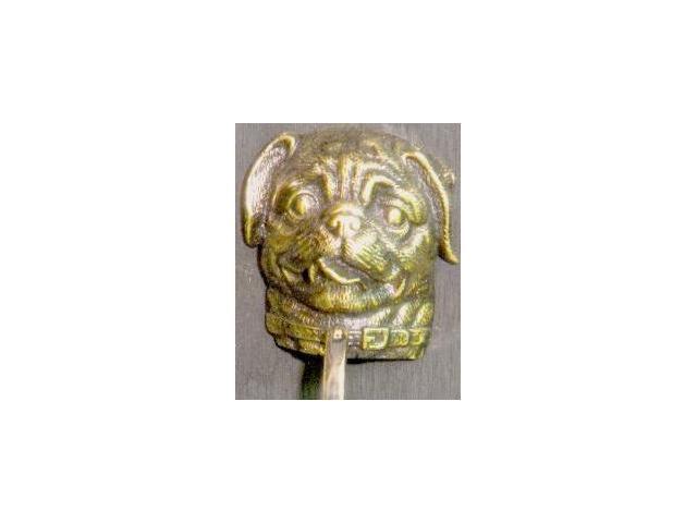 Mayer Mill Brass - DOK-PG - Pug Door Knocker