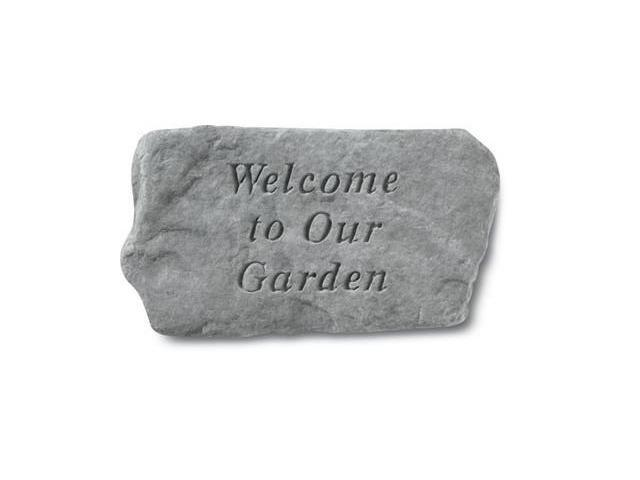Kay Berry- Inc. 61420 Welcome To Our Garden - Garden Accent - 11 Inches x 6 Inches