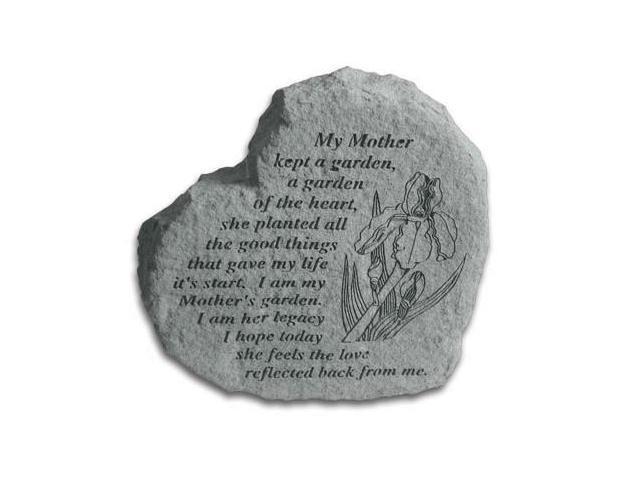 Kay Berry 08220 Heart-My Mother Kept A Garden...