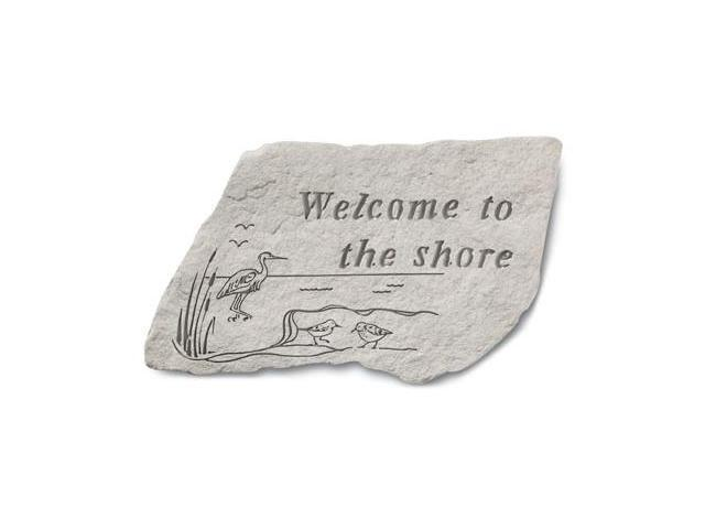 Kay Berry- Inc. 95140 Welcome To The Shore - Garden Accent - 14.5 Inches x 9.5 Inches