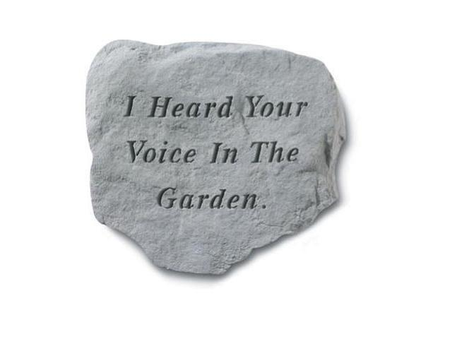 Kay Berry- Inc. 63920 I Heard Your Voice In The Garden - Memorial - 11 Inches x 10 Inches