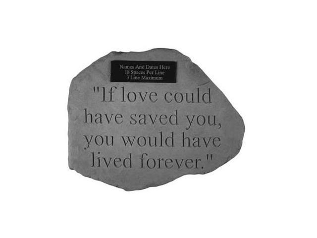 Kay Berry 54221 If Love could have saved...For local engraving
