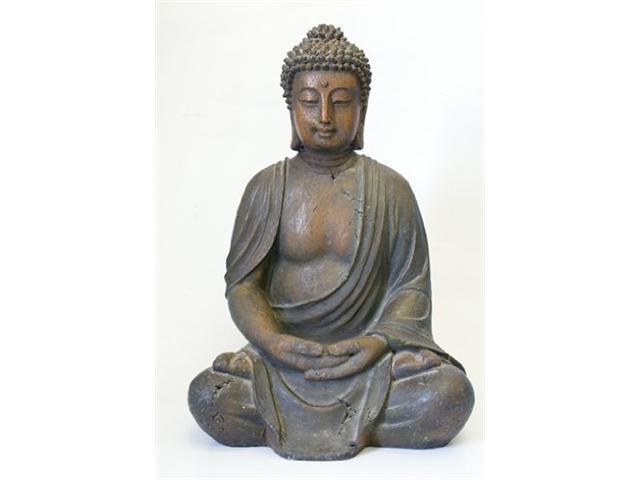 Alpine Corp GEM170 Buddha Statue Decoration