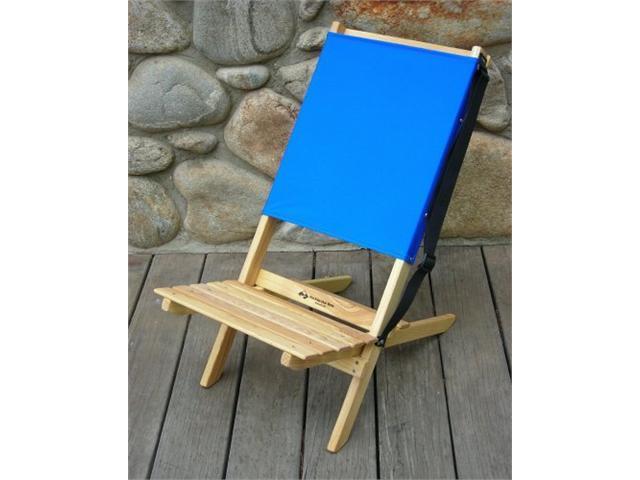 Blue Ridge Chair Works BRCH02WA Blue Ridge Chair - Atlantic Blue