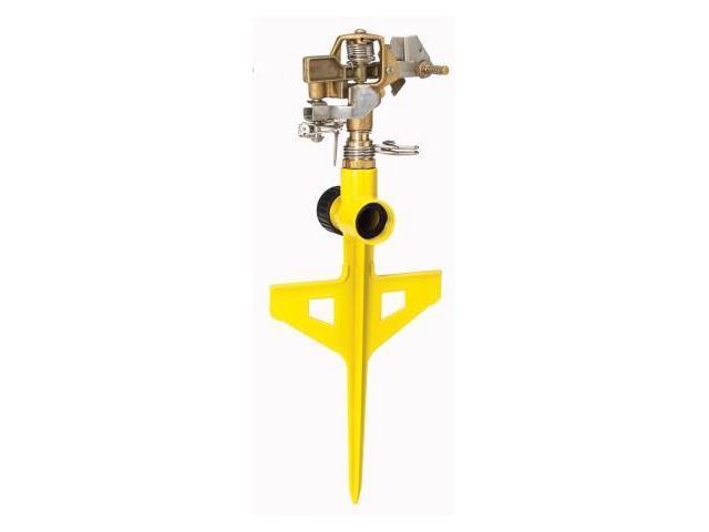 Dramm Corporation Yellow ColorStorm Stake Impulse Sprinkler  10-15063