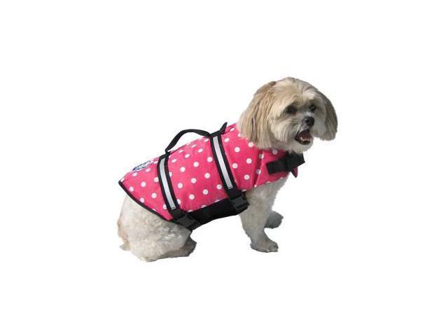 Paws Aboard PP1500 Large Polka Jacket - Pink