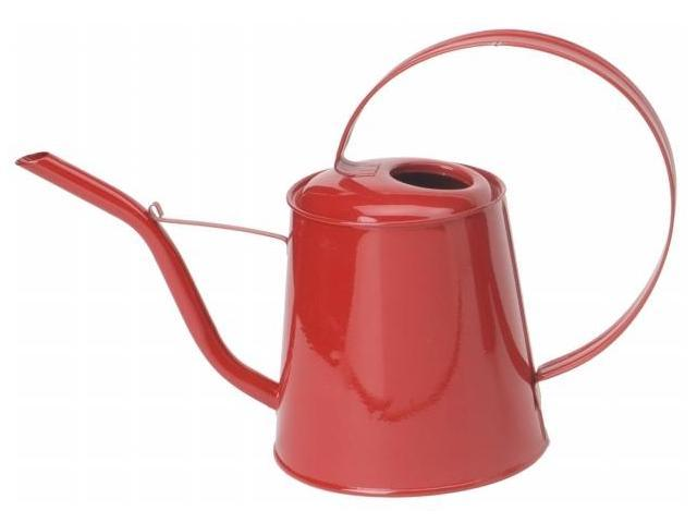 Houston International 3 Quart Assorted Colors Enamel Watering Can  8557E - Pack of 12