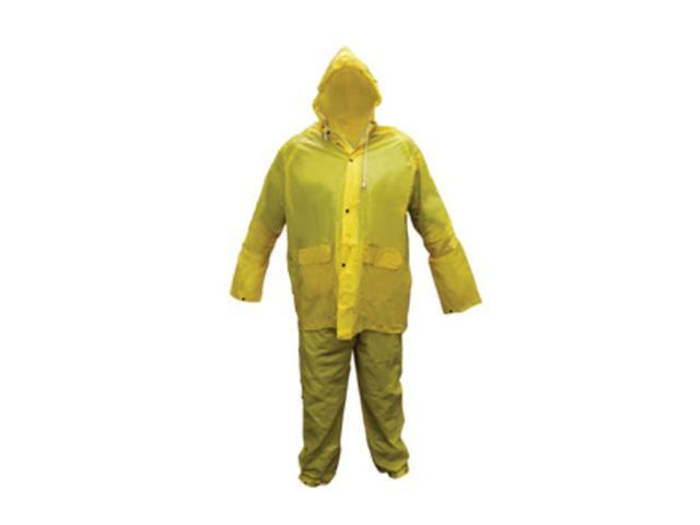 Sas Safety Corp SS6812 Medium Light Weight PVC Rain Suit