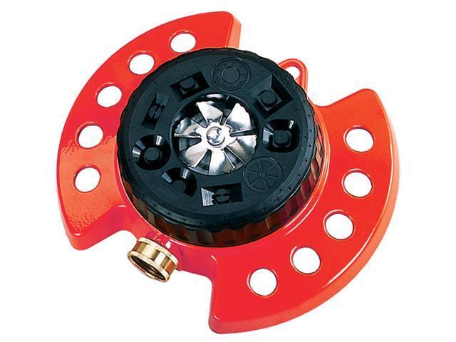 Dramm Corporation Red ColorStorm Turret Sprinkler  10-15021
