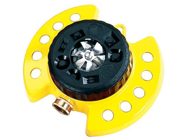 Dramm Corporation Yellow ColorStorm Turret Sprinkler  10-15023