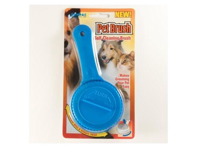 Compac 15210 Pet Brush- Self Cleaning