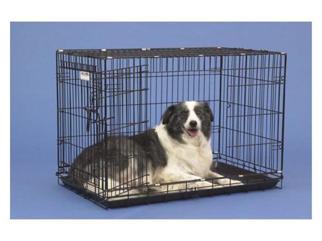 Precision Pet 1125-GRC4000BLK 2-Door Black Great Crate 4000 - 36 x 23 x 26 Inch