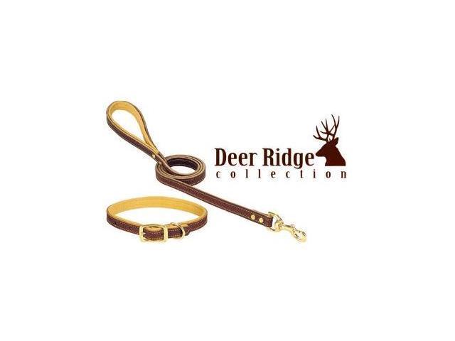 Weaver Deer Ridge Leather Collar 1