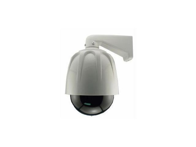 Streetwise Security Products LDDC8 8 Inch Dome Dummy Camera In Outdoor Housing With Led Light