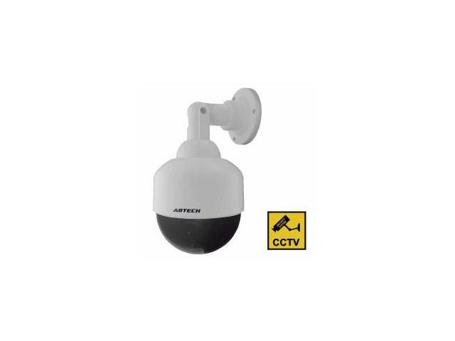 Streetwise Security Products DCSD4 4 Inch Speed Dome Dummy Camera in Outdoor Housing with LED Light