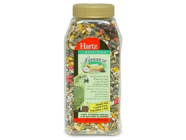 Hartz 17.6 Oz Nutrition Bonanza Hookbill Paradise Nut Blend  91107