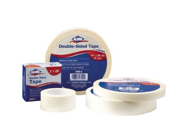 Alvin 2400-B Double-sided Tape 1in X36yds