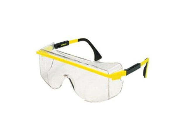 Uvex by Sperian 763-S2500C Uvex Astro Otg 3001 Safety Spectacle Black Frame