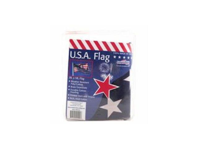 Flagzone 032020 3x5 Poly Cotton Flag In Clamshell Packaging