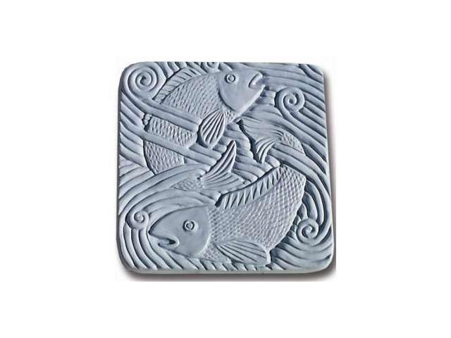Garden Molds X-FIW8010 Fish in Water Stepping Stone Mold- Pack of 2