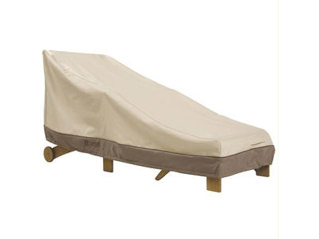 Classic Accessories 71972 Patio Day Chaise Cover -  Large Pebble  Bark  Earth