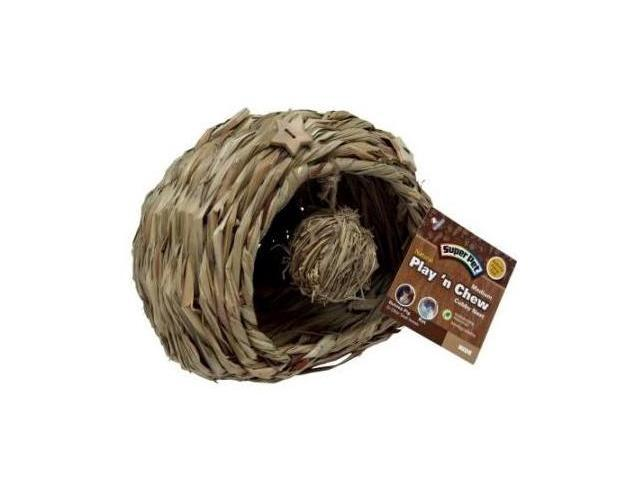 Super Pet Natural Play-N-Chew Cubby Nest, Large - 100506043