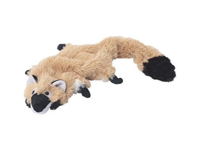 Doggles TYPBRA-06 Plush Bottle Raccoon Toy - Tan