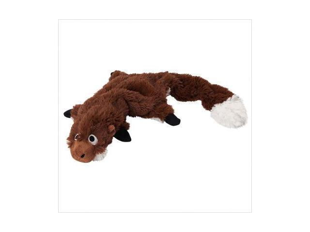 Doggles TYPBGH-20 Plush Bottle Ground Hog Toy - Brown