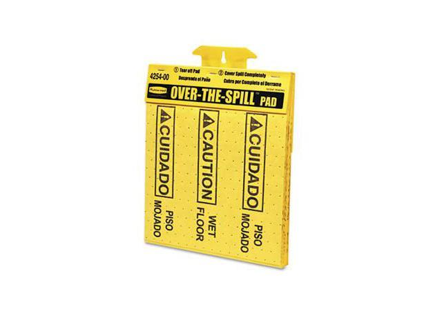 Rcp 4254 Over-The-Spill Pad Tablet w/20 Medium Spill Pads