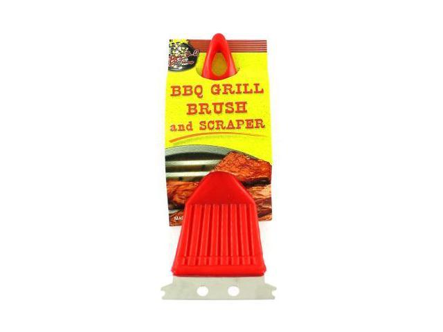 BBQ Grill brush and scaper - Pack of 48