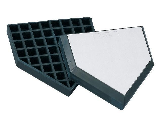 Trigon Sports BWBHP Waffle Bottom In-Ground Home Plate