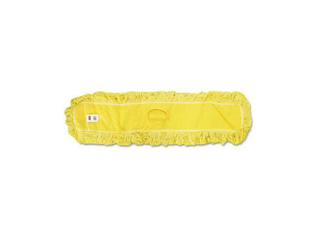 Rcp J15700YEL Trapper Commercial Dust Mop, Looped-end Launderable, 5'' x 48'', Yellow
