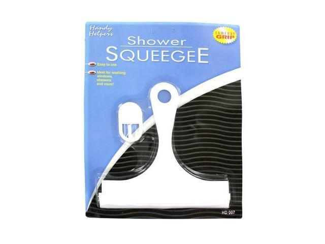 Shower Squeegee with hanging hook - Pack of 48