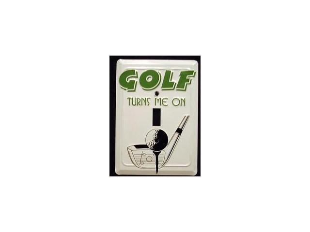 Golf Light Switch Covers (single) Plates LS10052