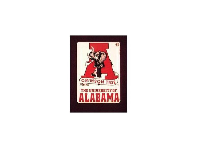University of Alabama Crimson Tide Light Switch Covers (single) Plates LS10067