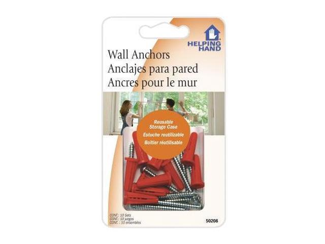 Faucet Queen 50208 Wall Anchors 10 Sets Per Pack - Pack Of 3