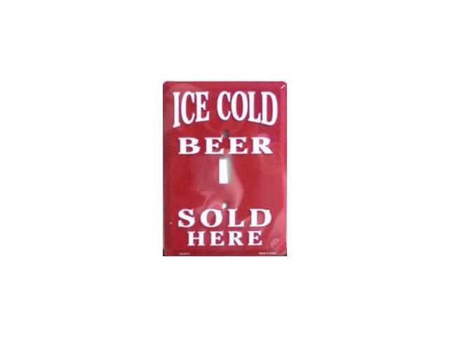Ice Cold Beer Sold Here Light Switch Covers (single) Plates LS10174