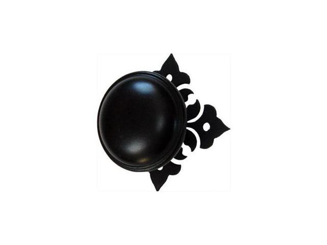 Village Wrought Iron DKP-153 Floral Door Knob