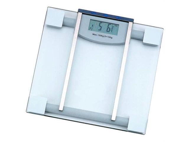 HealthSmart ELSCALE4 HealthSmart Glass Electronic Body Fat Scale