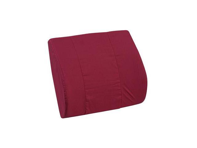 Duro-Med 555-7921-0700 Memory Foam Lumbar Cushion - Burgundy
