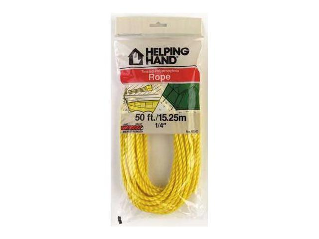 Helping Hands Twisted Polypropylene Rope  60060 - Pack of 3