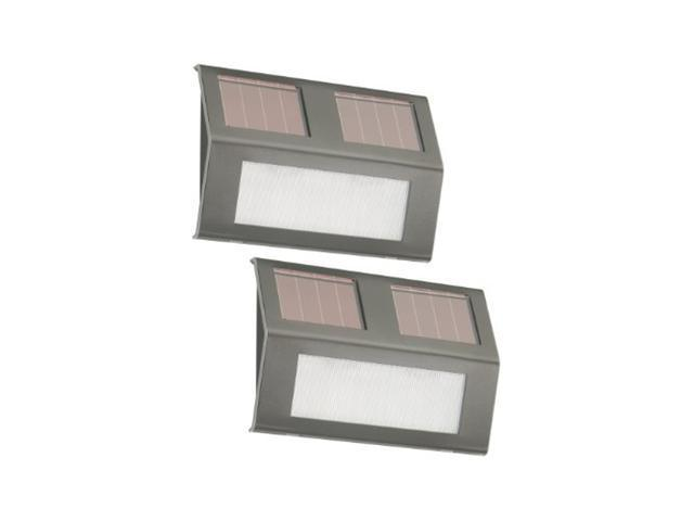Miracle Products 21060 Nature Power Solar Step Lights - 2 Pack