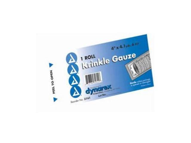 Complete Medical 12009A Gauze Krinkle Roll - Sterile 4.5 x 4.1 Yards