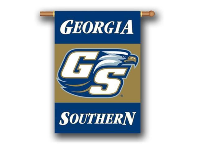 Bsi Products 96037 2-Sided 28'' X 40'' Banner W/ Pole Sleeve - Georgia Southern Eagles