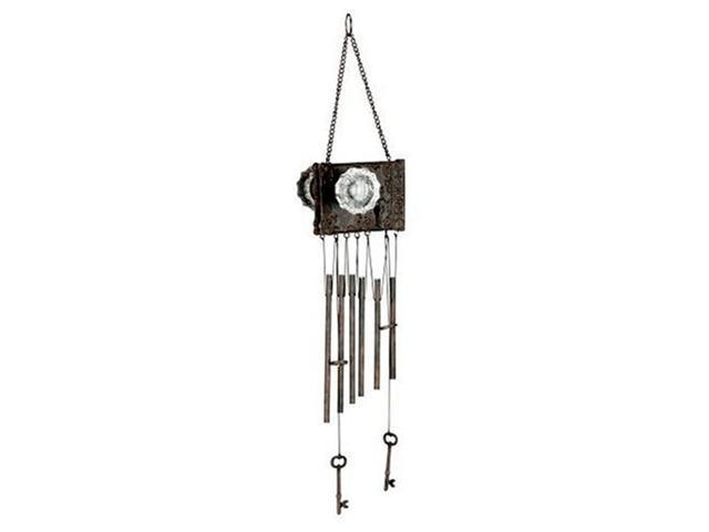 Red Carpet Studios - 13334 - Karen Penner Doorknob Wind Chime - Vintage Door Lock