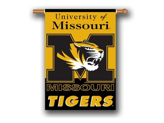 Bsi Products 96043 2-Sided 28'' X 40'' Banner W/ Pole Sleeve - Missouri Tigers