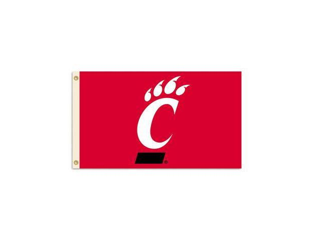 BSI PRODUCTS 95240 3 Ft. X 5 Ft. Flag with Grommets- Cincinnati Bearcats