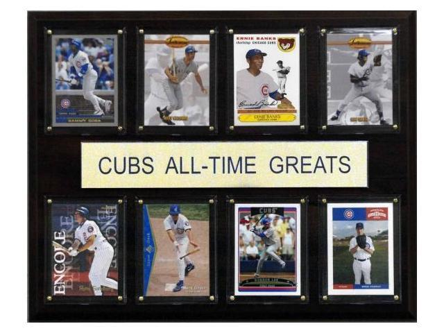 C & I Collectables 1215ATGCUBS MLB Chicago Cubs All-Time Greats Plaque