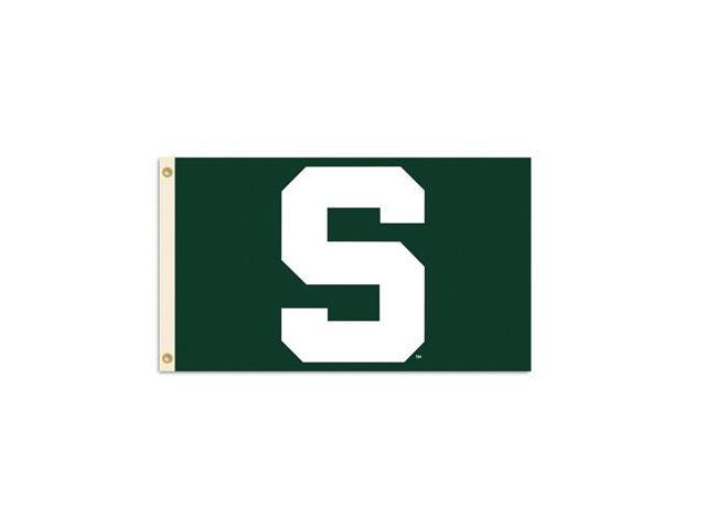 BSI PRODUCTS 95529 3 Ft. X 5 Ft. Flag with Grommets- Michigan State Spartans